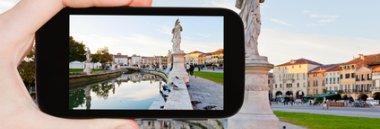 Imposta soggiorno Padova città monumenti turismo Prato Valle foto smartphone tax 380 ant fotolia 79394794