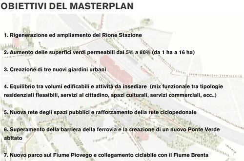 masterplan obiettivi