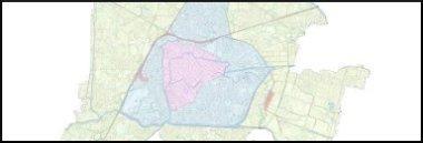Mappa della città Padova 380 ant strade vie